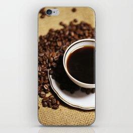 coffee cup iPhone Skin