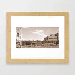 Past Present Puture  Framed Art Print