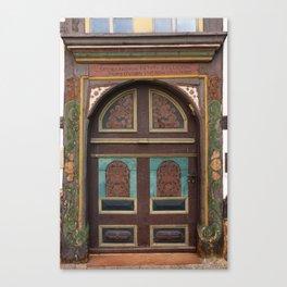 Door From Olden Times Canvas Print