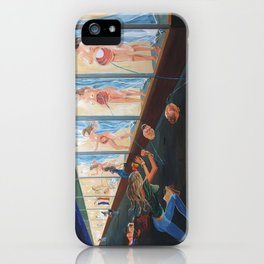 The shopping of Longings iPhone Case