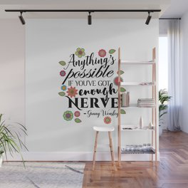 Anything's Possible - Ginny Weasley Wall Mural