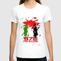 palestine T-shirts featuring Palestine Code by Maxvtis