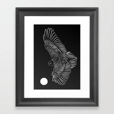 Beyond The Moon 2 Framed Art Print