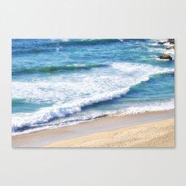 CALIFORNIA COAST - PACIFIC OCEAN BLUE Canvas Print