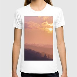 Sunset Over the Woods T-shirt