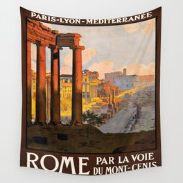 Vintage poster - Rome Wall Tapestry