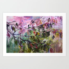 Melting Season Art Print