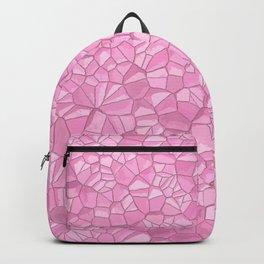Pink crystal Backpack