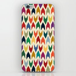 christmas arrows ivory iPhone Skin