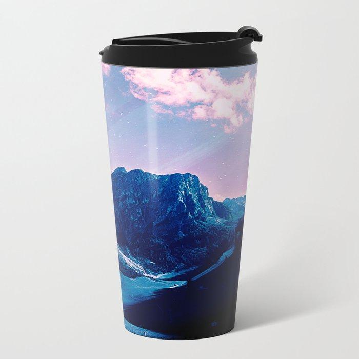 Mountain Magic Metal Travel Mug