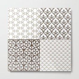 Composición Segovia I. Metal Print