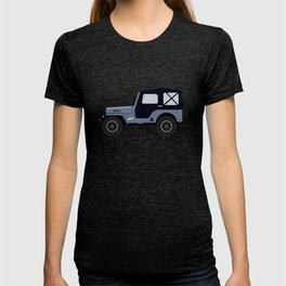 Mike's Winterblue Willys Jeep T-shirt