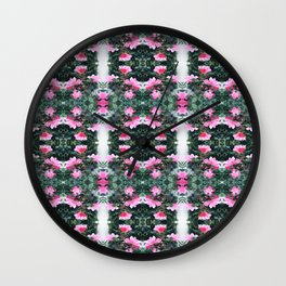 Candy Coated Roses small Wall Clock