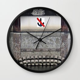 Don't Drop Anchor Here Wall Clock