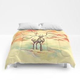 Essence of Nature - A Deer's Echo Comforters