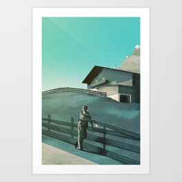 Waiting for You (Summer Version) Art Print