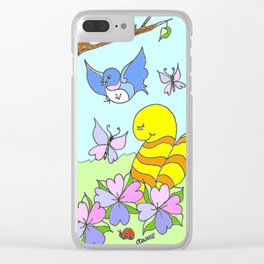 New Friends Clear iPhone Case