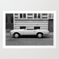 mercedes Art Prints featuring Mercedes Oldtimer by Vincent Weisser