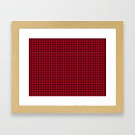 Leslie Tartan Framed Art Print