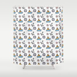 Nautica_Series 3 Shower Curtain