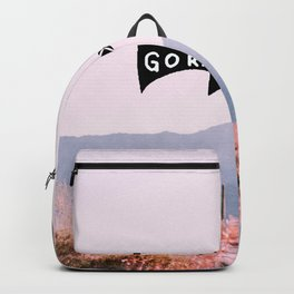 Go right - Beautiful pastel Cactus Backpack