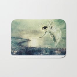 Spirit of the Night by John Atkinson Grimshaw Bath Mat