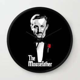 Walt E.Disney, The Mousefather Wall Clock