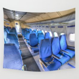 Tupolev TU-154 Russian Airliner Seating Wall Tapestry