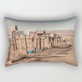 Letter boxes Rectangular Pillow