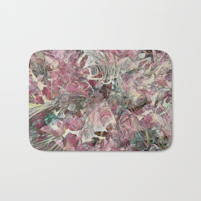 Leaf Skeletons Bath Mat