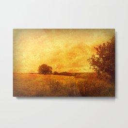 Autumn - Dundry Fields, Sonerset. Metal Print