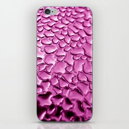 pink water drops II iPhone Skin