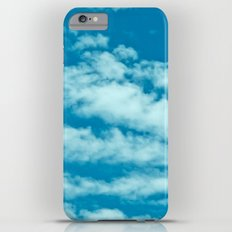 Beautiful blue sky and fluffy clouds Slim Case iPhone 6 Plus