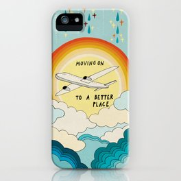 Moving on iPhone Case