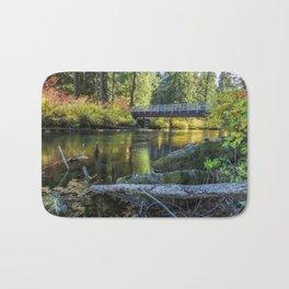 Fall at Clear Lake, No. 1 Bath Mat