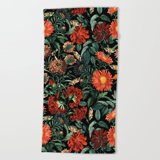 NIGHT FOREST XVIII Beach Towel