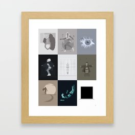 iamamiwhoami; kin (NO SONG TITLES) Framed Art Print