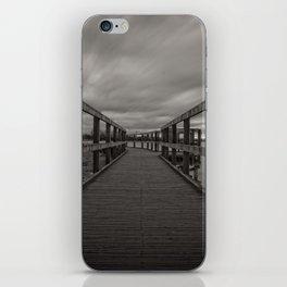 Chasewater Broadwalk Mono iPhone Skin