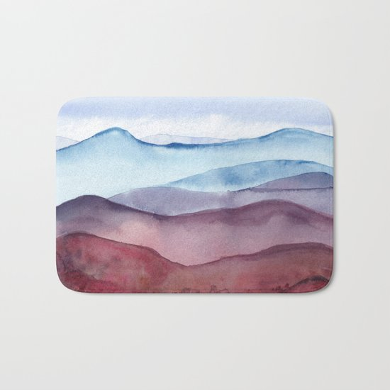 Mountains Bath Mat