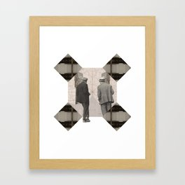 Ah...so you're a critique Framed Art Print