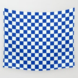 Blue Boy (check) Wall Tapestry