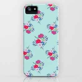 Petite Light Blue Summer iPhone Case
