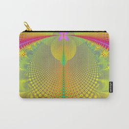 Butterfly in the Sunlight Fractal Abstract Carry-All Pouch