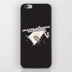 Changlourious Basterds iPhone & iPod Skin
