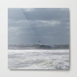 The great Atlantic Ocean. Metal Print