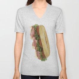 Deli Sandwich Unisex V-Neck
