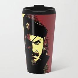 Big Boss (naked snake from metal gear solid) Travel Mug