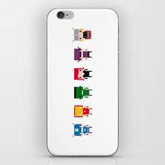 Pixel Avengers iPhone & iPod Skin