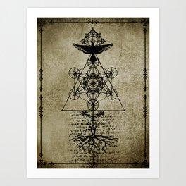 Catalyst III Art Print