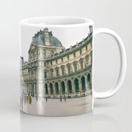 Sometimes People Annoy me Feat. The Louvre, Paris Coffee Mug